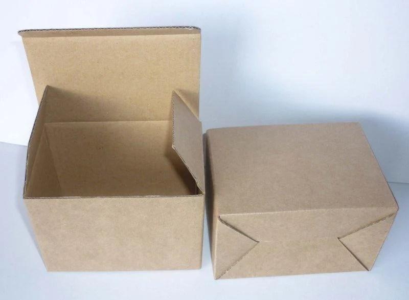 [包裝工廠]A1牛皮瓦楞紙盒.插底.長10.8*寬6.8*高7.8公分.60個一組312元 - 露天拍賣
