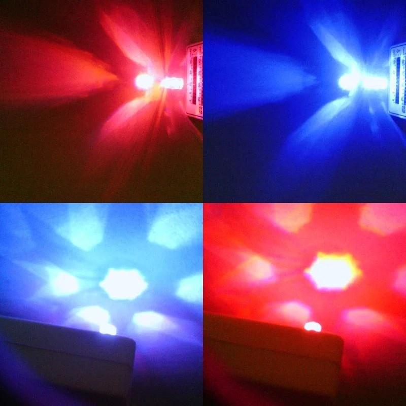 新款六角7mm透明面鑽石款紅藍交互閃爍LED-影片https://i0.wp.com/youtu.be/_4WgkotHyQ0 - 露天拍賣
