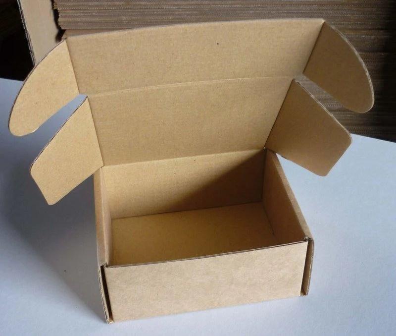 [包裝工廠]C8一體成型牛皮瓦楞紙盒.(外徑14*11*5.5公分)(內徑13*10.8*5.3)50個一組364元 - 露天拍賣