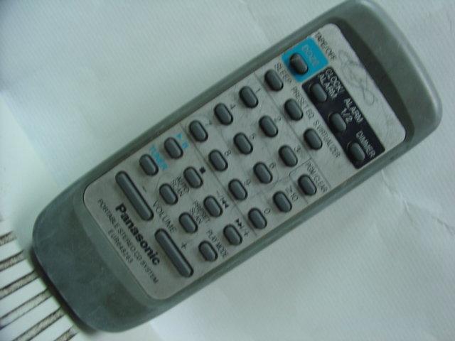 二手Panasonic 國際牌組合音響原廠遙控器 EUR648263 --- M-302 - 露天拍賣