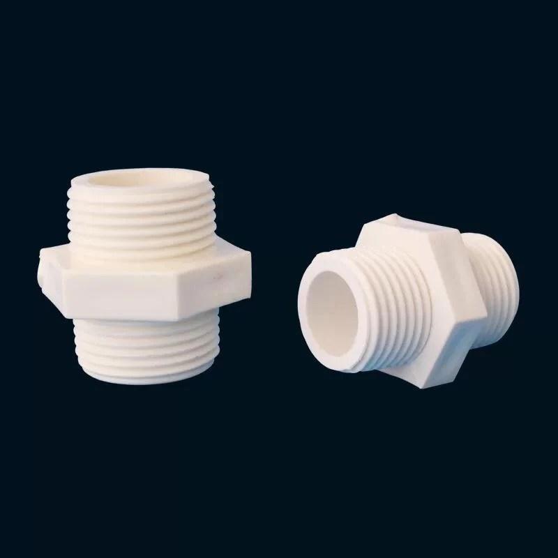 1吋立布 1吋外牙對接 1吋轉接頭 轉接頭 1吋雙公街頭 水管接頭 pvc零件Y零件 - 露天拍賣