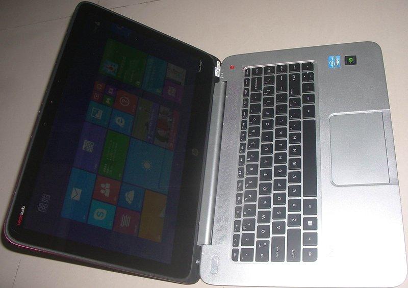 清倉超薄i7HP envy 4 NB筆電15吋TouchSmart觸控螢幕,750GB,8GB,備份還原,雙顯卡LOL - 露天拍賣