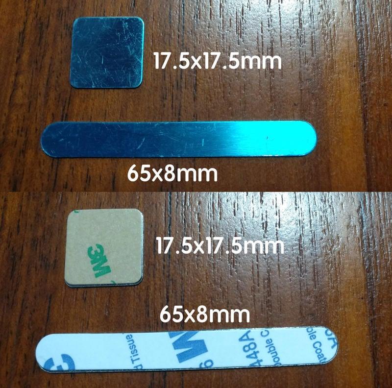 萬磁王 不鏽鋼方形帶膠鐵片六種規格(附3M背膠)-可與方形磁鐵對吸 - 露天拍賣