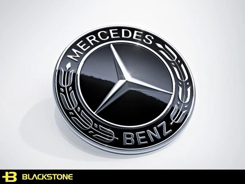 [黑石研創] Mercedes Benz 賓士 AMG 黑標 輪圈蓋 LOGO S-CLASS W222 【J1129】 - 露天拍賣