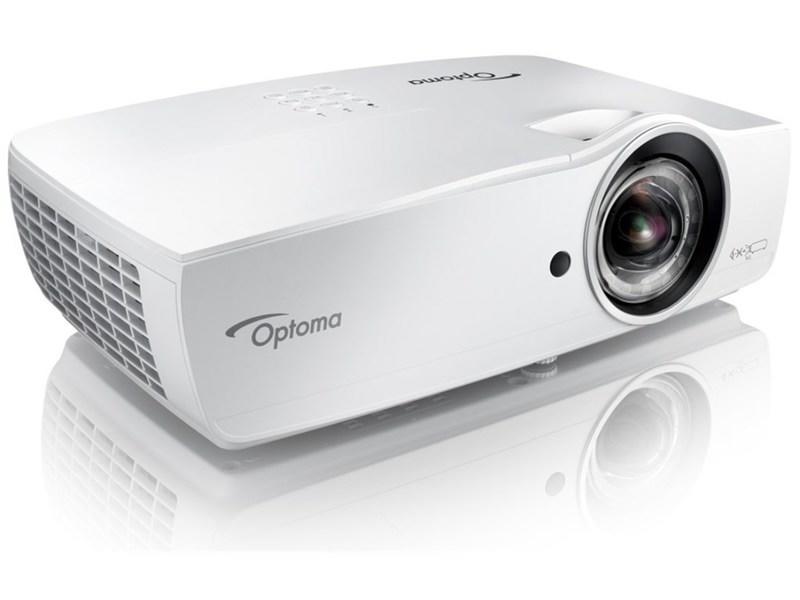 Optoma EH460ST高亮度1080P短焦投影機1.1米就能投影100寸的大畫面 - 露天拍賣