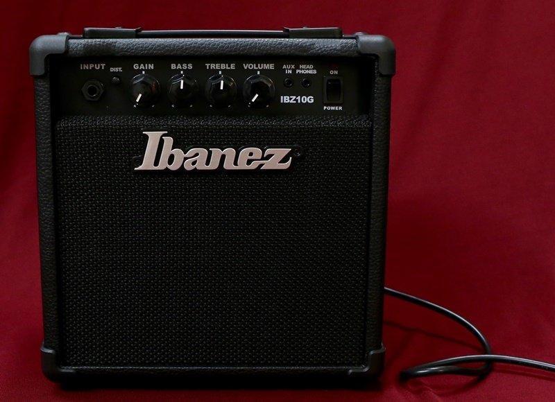 大鼻子樂器 IBANEZ IBZ10G 電吉他 音箱 10W 可AUX IN 公司貨 Marshall - 露天拍賣