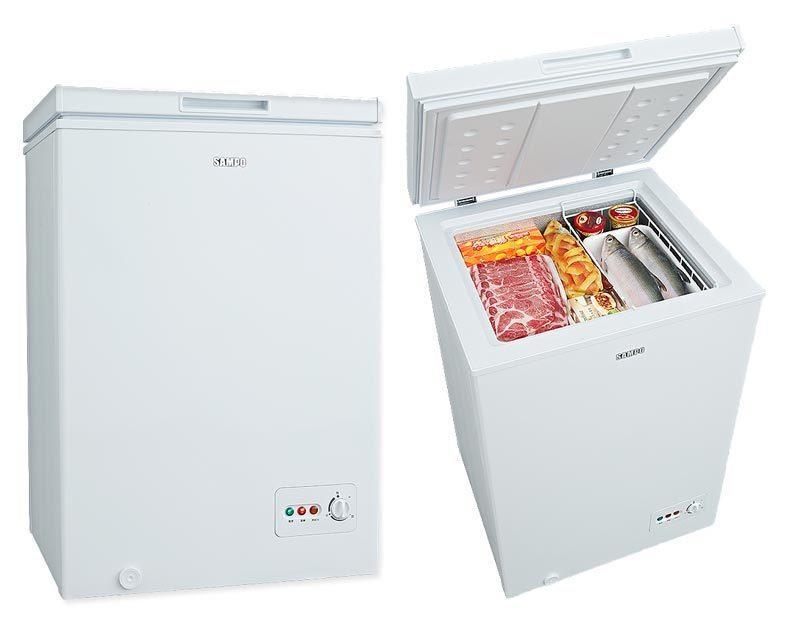 SAMPO聲寶 100公升臥式冷凍櫃 SRF-101 - 露天拍賣