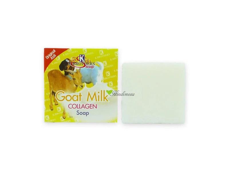 泰國 K. Brothers 草本膠原蛋白山羊奶手工皂 Goat Milk Collagen 60g 可搭medimix - 露天拍賣