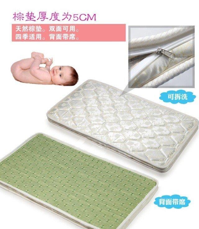嬰兒床墊棕墊 純天然棕櫚床墊 冬夏兩用 透水透氣 可拆洗 - 露天拍賣