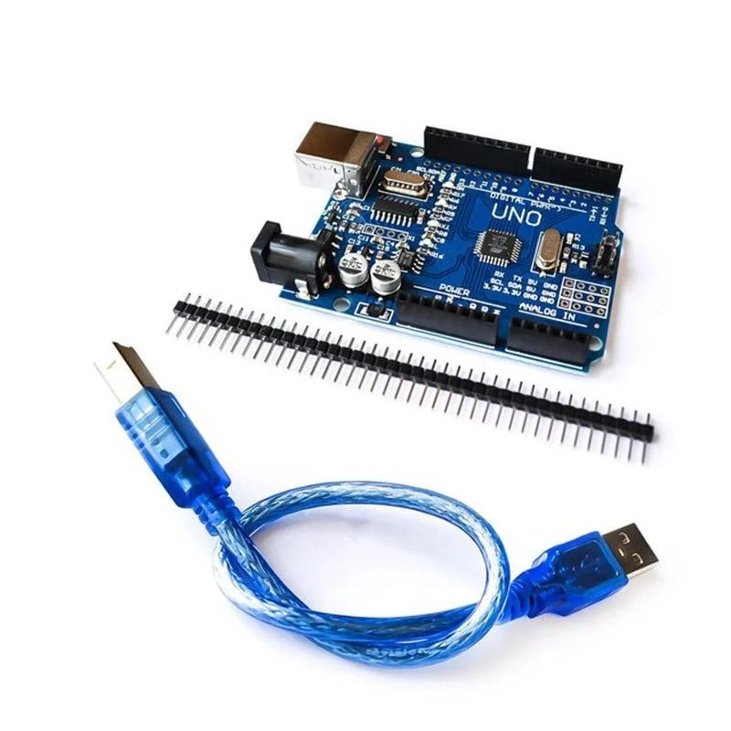 Arduino uno r3 附 排針 傳輸線 - 露天拍賣
