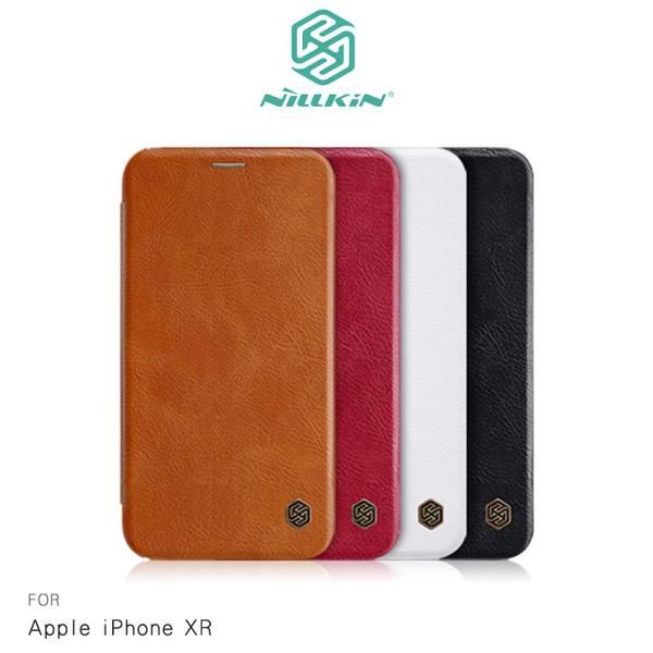 NILLKIN Apple iPhone XR 秦系列皮套 可插卡 側翻 皮革 保護套 手機套   露天拍賣