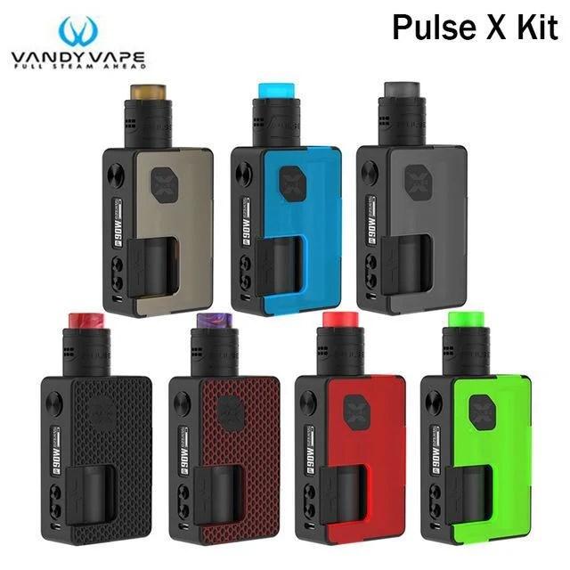 【蒸氣迷霧】含RDA Vandy Vape PULSE X KIT 脈衝 溫控電子BF主機非電子 煙 菸【AAA112】 - 露天拍賣