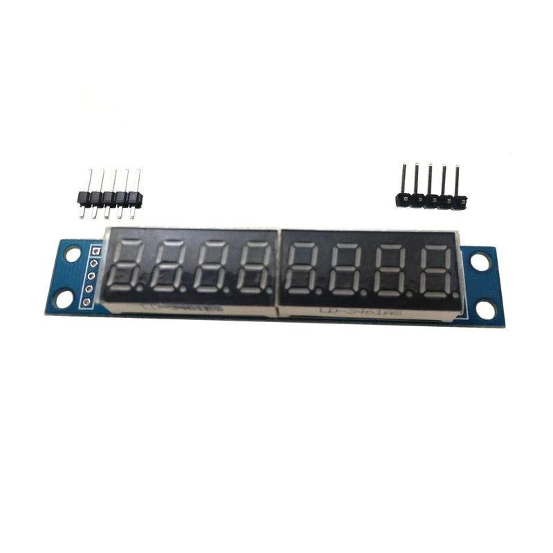 【TNA168賣場】Arduino 8位元數位的7段數位LED顯示 可級聯成品 MAX7219模組(A021) - 露天拍賣