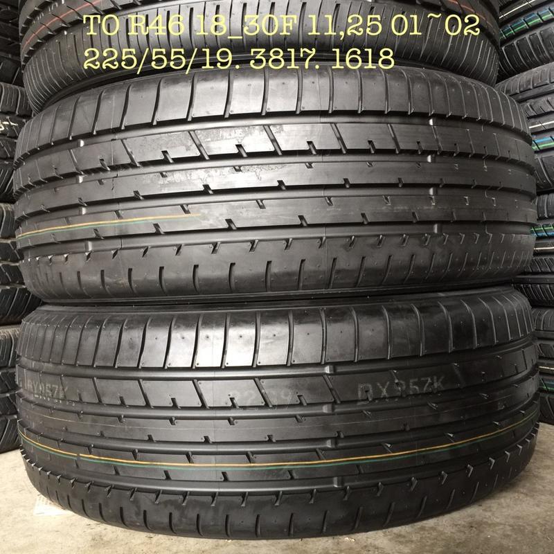 中古/二手/落地胎/225/55-19 TOYO輪胎 CX5/RAV4/CRV/IX35/X-TRAIL - 露天拍賣