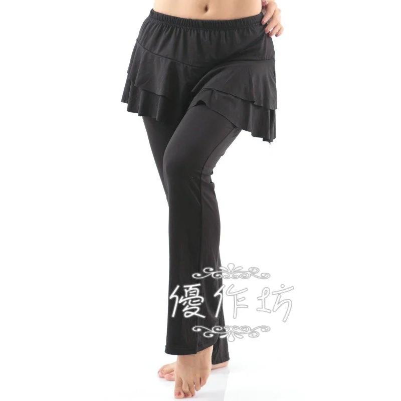 【優作坊】2253_層次外罩裙水褲,吸濕透氣激瘦版,瑜珈褲,裙褲,蟑螂褲,練習褲 - 露天拍賣