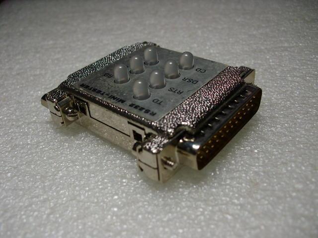 【大老二手電腦-測試器】RS232 MINI TESTER測試器25針 - 露天拍賣