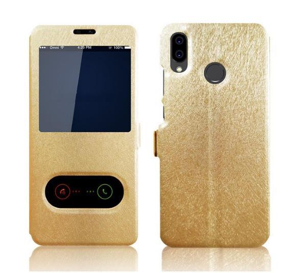 【免翻蓋接聽】雙開窗 三星 Galaxy A8 Star G885 手機套 支架 磁扣 保護套 皮套 手機殼 保護殼 - 露天拍賣