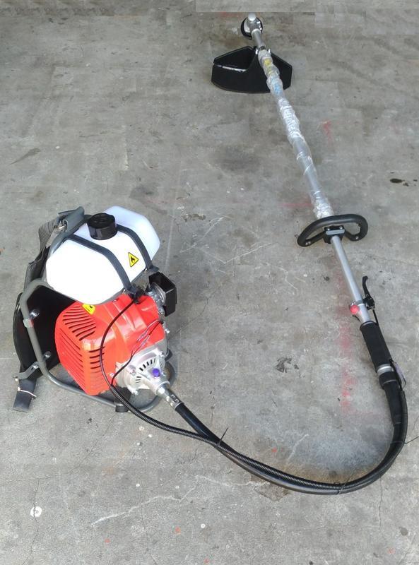 響磊企業社 全新 大全配 精選款BG430 背負式軟管割草機 好發動 有保固 - 露天拍賣