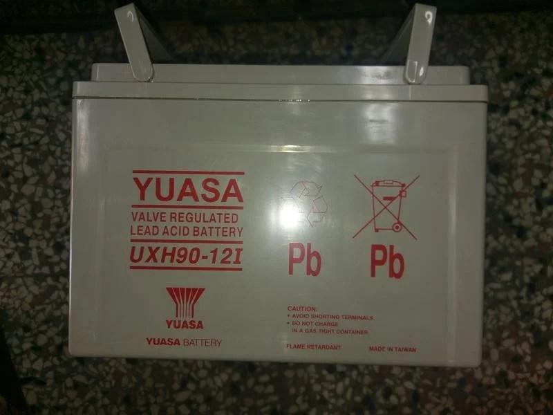 YUASA UXH90-12I 90Ah 深循環電池 露營用電池 中古電池 野外充電 野外照明 UPS 風力發電 太陽能 - 露天拍賣
