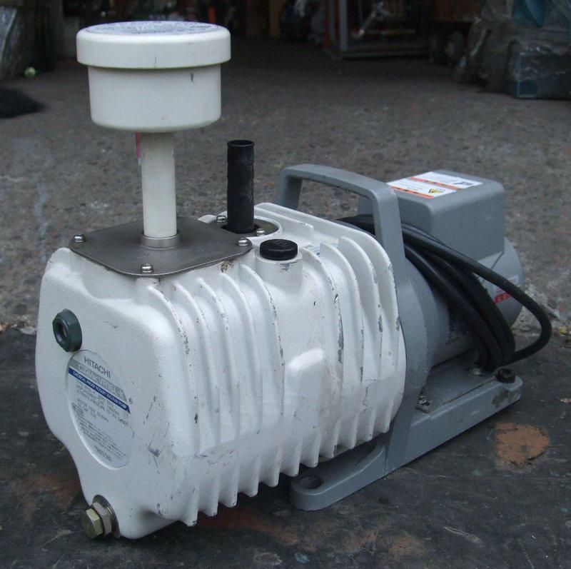 日本HITACHI VR16L-K(0.5HP/110V)油式真空幫浦/真空機---抽冷媒,翻模,真空脫泡機 - 露天拍賣