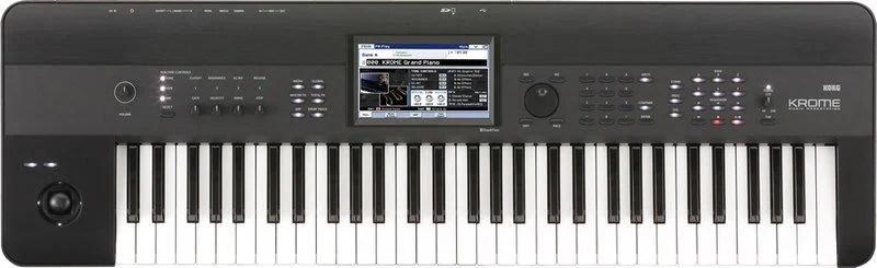 【搖滾鍵盤-限量破盤清倉價】KORG KROME 61 音樂工作站 * KROME-61總代理2年保固 - 露天拍賣