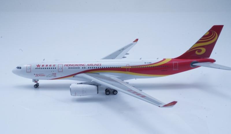 [RBF] 現貨 Phoenix 1/400 香港航空 A330-200 20周年彩繪機 B-LNJ - 露天拍賣