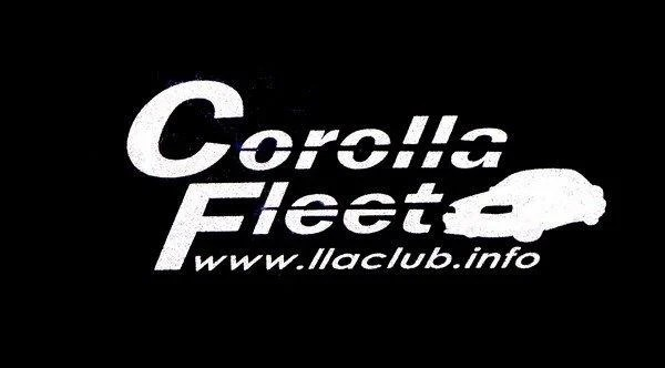 3M反光貼紙達人~Corolla Fleet Club車隊Logo~反光材料製作 - 露天拍賣