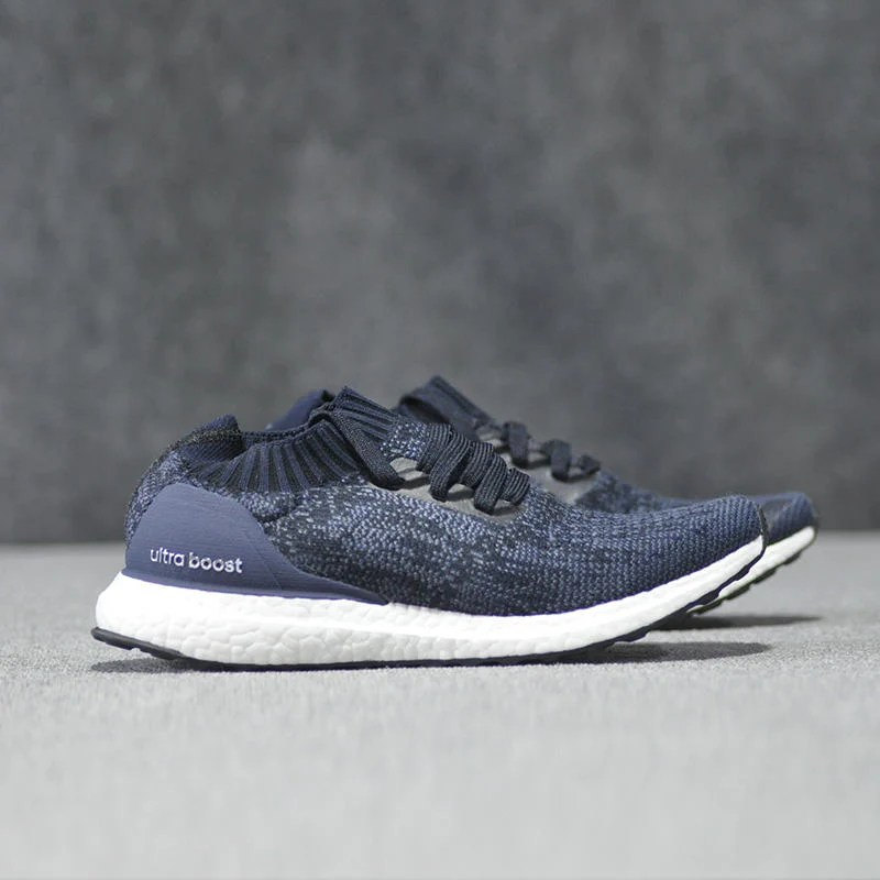 【RS只賣正品】adidas Ultra Boost Uncaged BY2566 黑藍色 針織 襪套鞋 慢跑鞋 - 露天拍賣