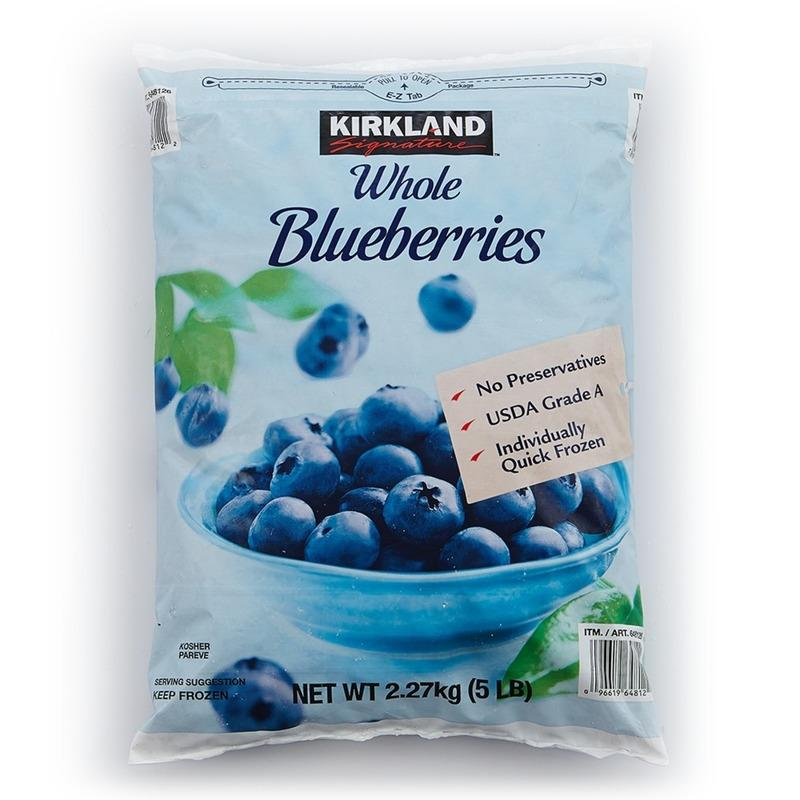 costco線上代購 #722573 KS 科克蘭 冷凍藍莓 2.27公斤X2入 * - 露天拍賣