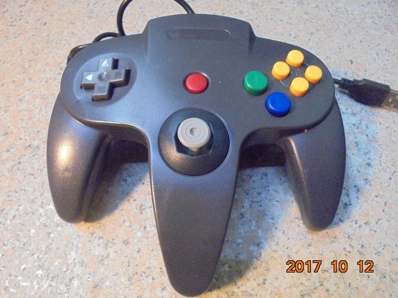 任天堂N64手把 專用搖桿/有線手把/控制器 USB介面 模擬器用 N64主機無法使用 桃園《蝦米小鋪》 - 露天拍賣