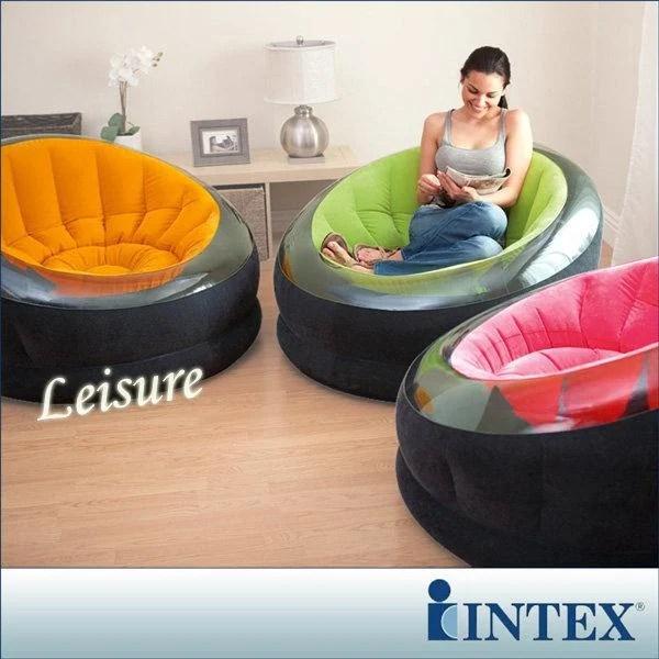 INTEX《星球椅》充氣沙發椅-3色可選15030080(68582) - 露天拍賣
