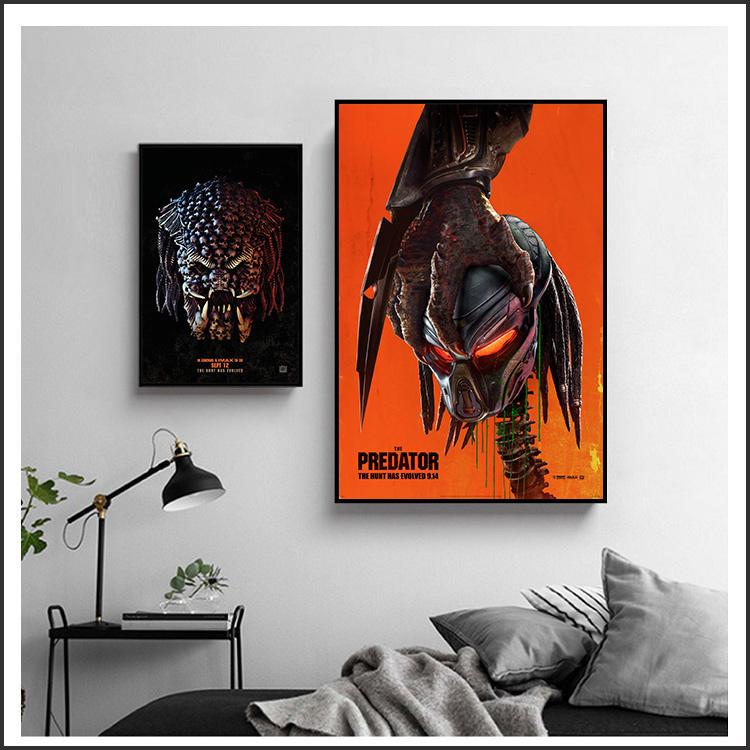 日本製畫布 電影海報 終極戰士 掠奪者 The Predator 掛畫 嵌框畫 @Movie PoP 賣場多款海報# - 露天拍賣