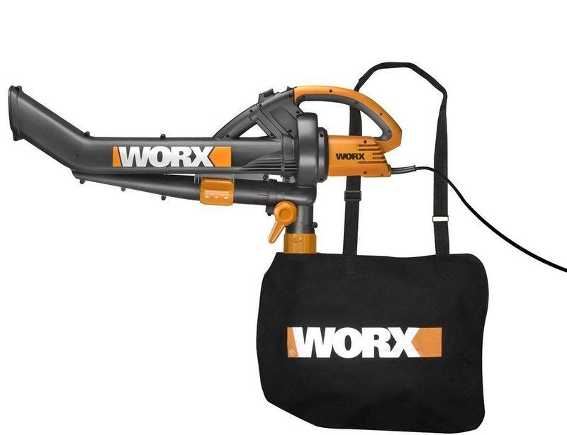 補貨中 美國進口全新 威克士WORX WG505 12amp 真空吹吸一體機 - 露天拍賣