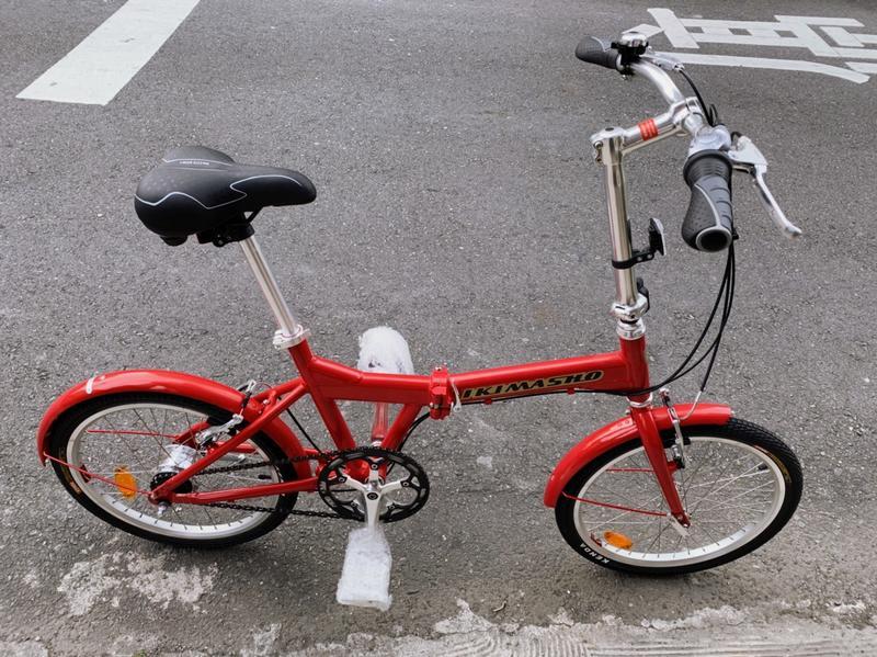 Shmano 內變7速 鋁合金折疊腳踏車 老貂 DAHON 可參考 全新 僅拆開拍照 - 露天拍賣
