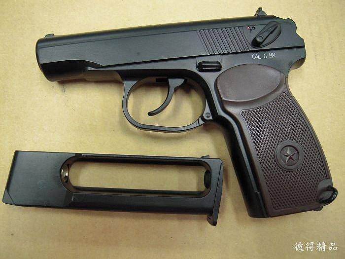 臺灣製 KWC 馬可洛夫 MAKAROV 全金屬 CO2手槍加裝鍍鉻精密管,準度耐用度提升版 - 露天拍賣