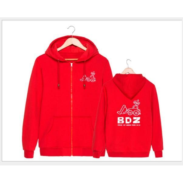 東大*預購*S258 TWICE BDZ周邊應援衣服同款衛衣套頭拉鍊開衫男女加絨外套   露天拍賣