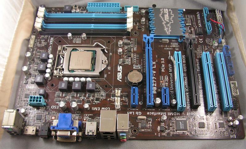 《福和科技》精選華碩ASUS P8Z77-V LX 1155 DDR3 USB3.0 雙顯卡 主機板 - 露天拍賣