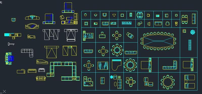 AutoCAD 室內設計素材集 - 各種模型, 電腦軟體 , 文書,這裡分享一個大家手邊就有的功能,施工圖 ,高手請進 - Mobile01