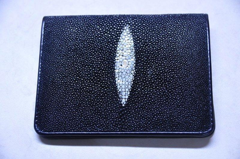 珍珠魚皮夾 - 露天拍賣