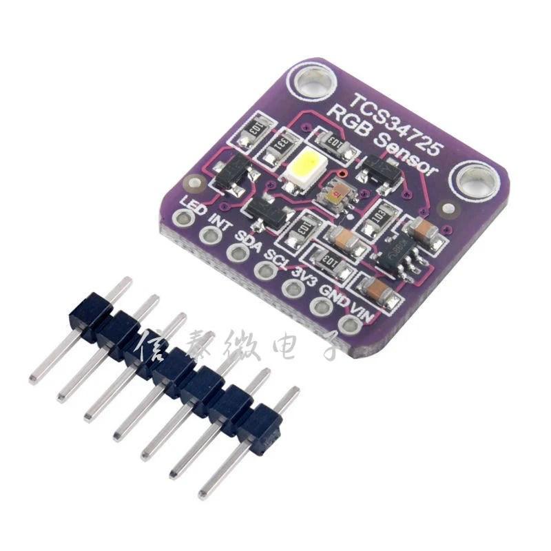 【睿康創意】TCS34725 顏色感測器模塊 Color RGB Sensor - 露天拍賣