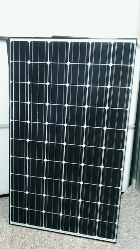 (8年太陽能銷售老店)全新 單晶太陽能板300W 足功率太陽能板 單片3800元 - 露天拍賣