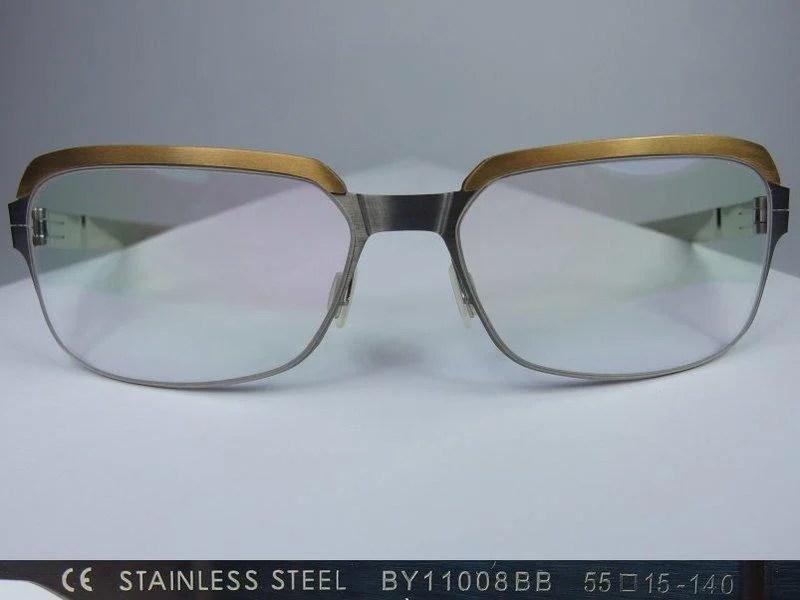 【信義計劃】全新真品 德國製 ByWP 超輕金屬眼鏡 超越Mykita Infinity Lindberg JF   露天拍賣