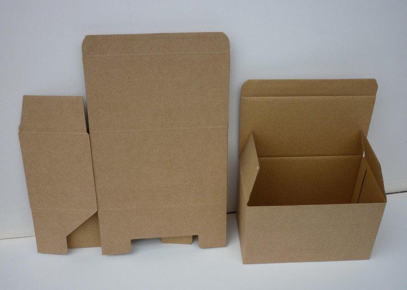 [包裝工廠]A5牛皮瓦楞紙盒.插底.長16*寬8.8*高9.8公分.(50個一組416元) - 露天拍賣