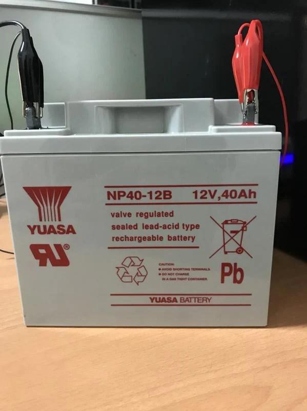 湯淺YUASA NP40-12 深循環電池 露營用電池 中古電池 照明用電池 UPS 太陽能蓄電池 - 露天拍賣