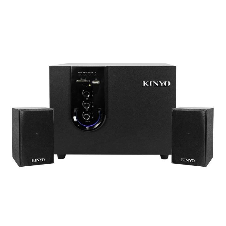 喇叭 KINYO KY-1755 2.1聲道多功能藍芽喇叭 藍芽喇叭 FM收音 筆電 電腦 手機USB - 露天拍賣