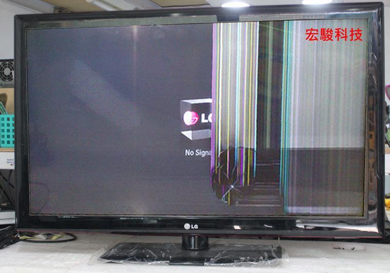 LG 42LD650 液晶電視面板破裂更換 - 露天拍賣