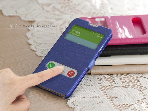 星光紋雙視窗皮套 小米4i 紅米Note3 手機殼 保護殼 側掀手機套 站立保護套 免掀蓋滑動接聽 磁扣翻蓋皮套 ARZ ...