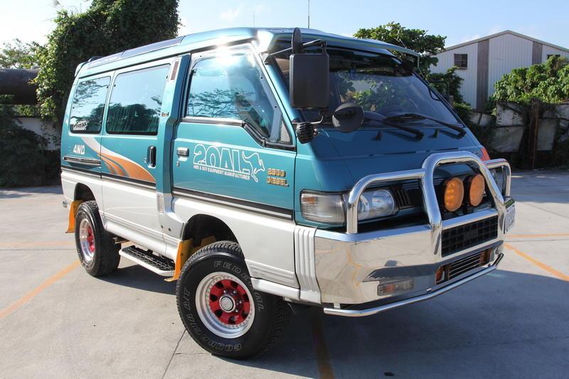95年 極致版 三菱 得利卡 綠視界 (綠世界) 柴油 4WD 全功能 露營車   露天拍賣