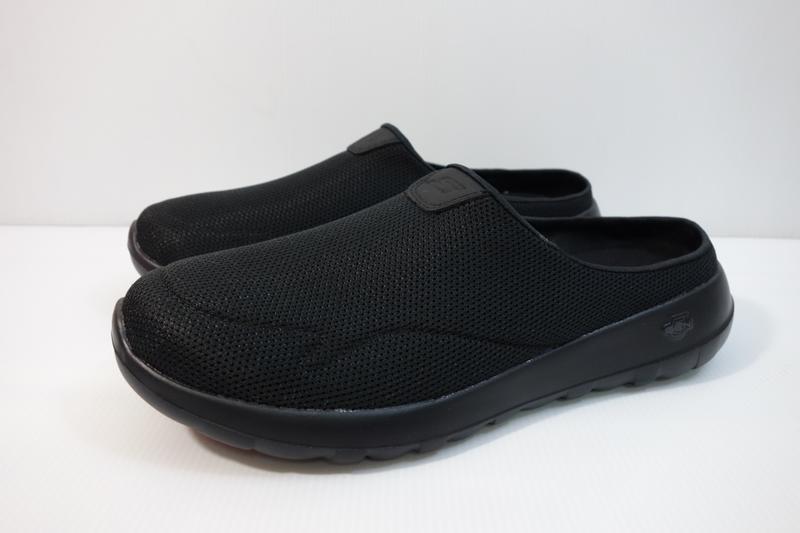 =小綿羊= SKECHERS GO WALK MAX 黑 54636BBK 男生 休閒鞋 懶人鞋 拖鞋 - 露天拍賣