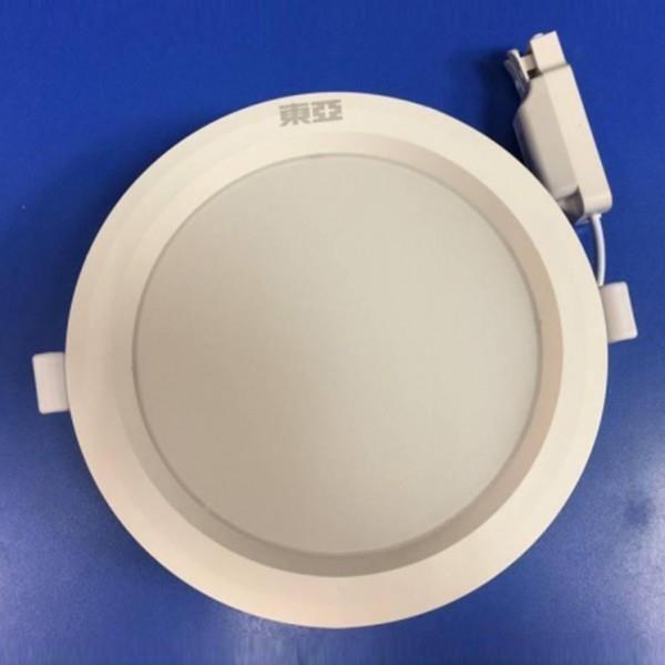 柏泓~東亞照明 LED 15W 薄型崁燈~崁孔15CM~白光/自然光/黃光   露天拍賣